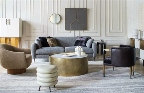 luxury living room furniture collection luxury living rooms designed by wearstler living