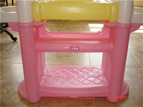 tikes changing table tikes doll changing table w highchairs bath ebay