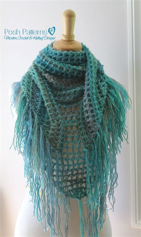 free crochet pattern triangle wrap crochet triangle scarf pattern crochet shawl pattern