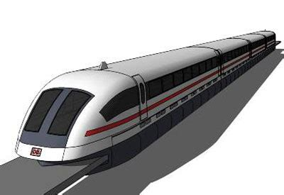 maglev bed sketchup components 3d warehouse train maglev high speed tain