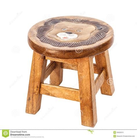 small wooden chair stock photos image 30629313