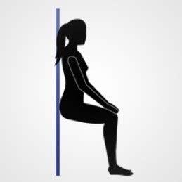 exercice de la chaise se muscler sans bouger une alternative int 233 ressante