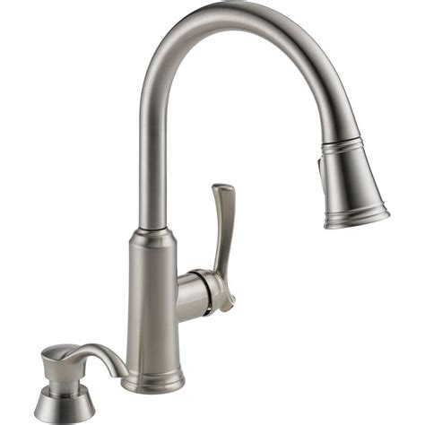 delta vessona kitchen faucet kitchen faucets home depot delta vessona 2handle standard