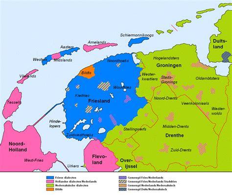 Or Nederland File Taalsituatie Noord Nederland Png