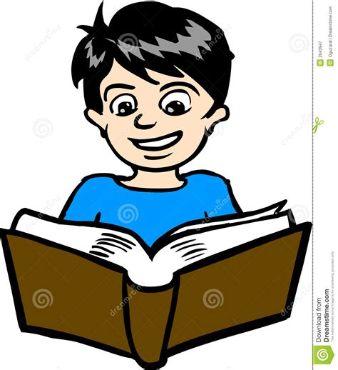 book reading pictures boy reading book clipart clipartxtras