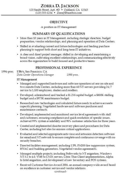 Well Written Resume by Summary On Resume Exle Best Resume Gallery