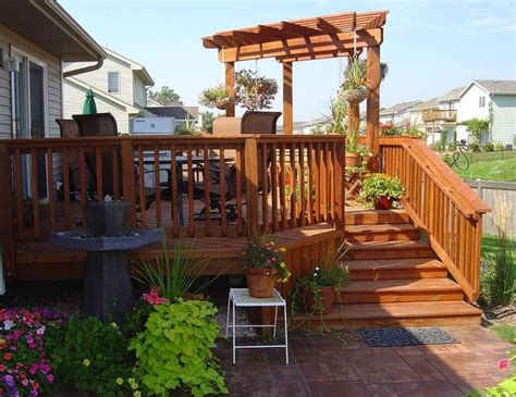 decks with pergolas pergola with deck arbors pergolas