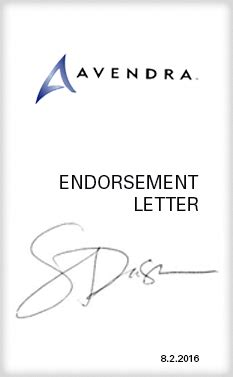 Endorsement Letter For Equipment restaurant technologies is an avendra approved supplier