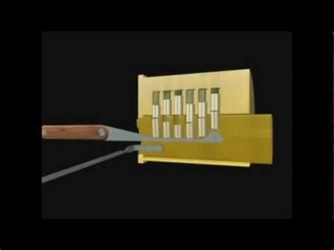 How To Make A Lockpick Out Of Paper - how to lockpick lockpicking tutorial