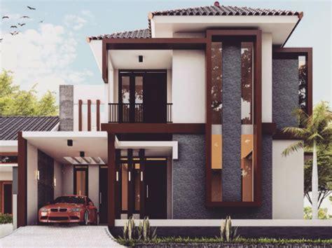 gambar rumah minimalis  lantai modern terbaru