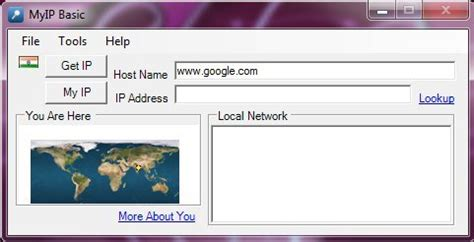 Website Ip Address Finder Ip Address Finder For Free Myip Basic