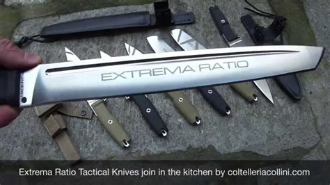 Tactical Kitchen Knives by Extrema Ratio Chef S Knife Tactical Kitchen Knives