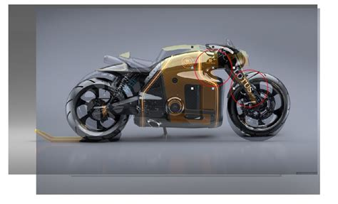 koenigsegg concept bike a koenigsegg on two wheels burov art s concept cycle