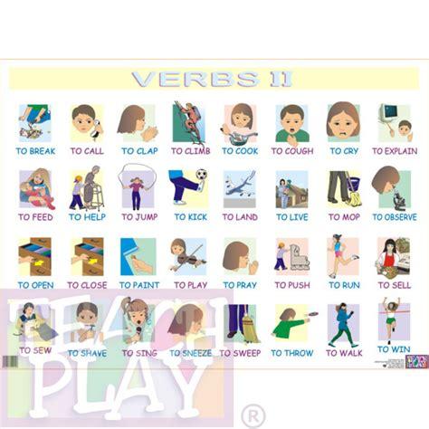 imagenes en ingles vervos verbs ii posters