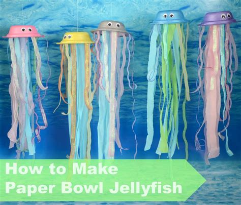 How To Make Paper Jellyfish - 25 best ideas about sea theme on the
