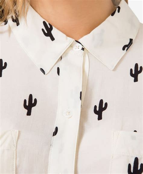 Cactus Print Shirt cactus print cactus and shirts on