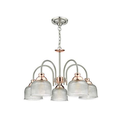 dar lighting wharfdale 5 light ceiling pendant in satin