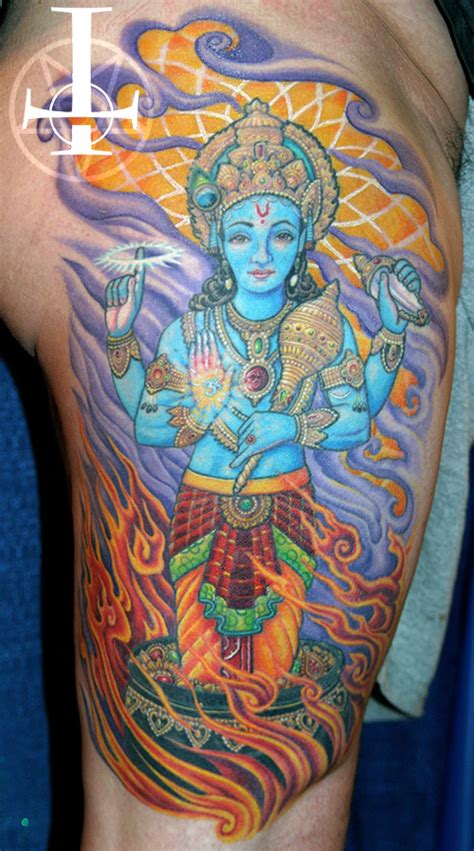 vishnu tattoo page 2 tim kern tattoos