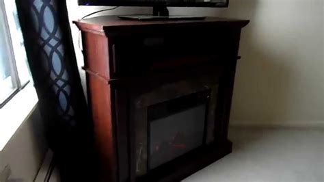 Essential Home Electric Fireplace by Essential Home Electric Finley Corner Fireplace