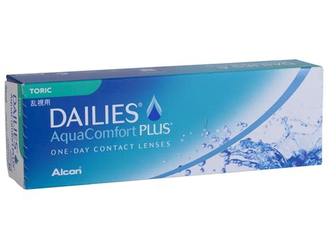 aqua comfort dailies aquacomfort plus toric 30 pack lensdirect