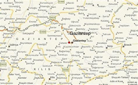gaziantep map gaziantep location guide