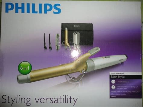 Hair Styler Multi 6 In 1 Philips Hp 8698 Successor Hp 4698 philips multi styler salon stylist hp4696