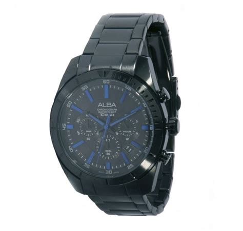 Alba As9293x1 Stainless Steel Mens Watches buy alba for stainless steel chronograph at3579x watches ksa souq