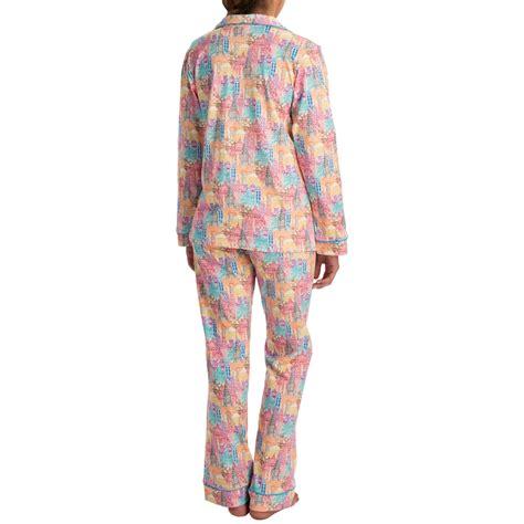 knit pajamas bedhead patterned cotton knit pajamas for save 45
