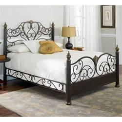Designer Bed Frames Nz Elegance Iron Bed Ornate Design Glided Truffle