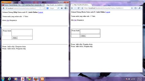 Membuat Komentar Facebook Dengan Php | trick membuat aplikasi sederhana chat facebook dengan