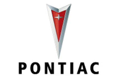 pontiac racing logo car logos the archive of car company logos