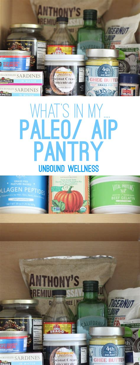Paleo Pantry by Paleo Aip Pantry Staples Unbound Wellness