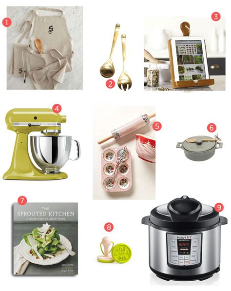 the best holiday gift guide for the kitchen addict