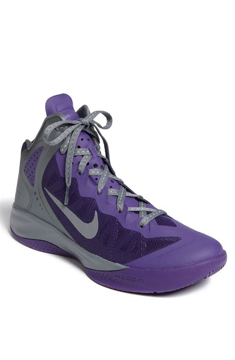 basketball shoe nike zoom hyper enforcer pe basketball shoe in purple for