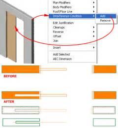 How To Draw A Sliding Door In A Floor Plan by Pocket Door Slot In Architectural Desktop