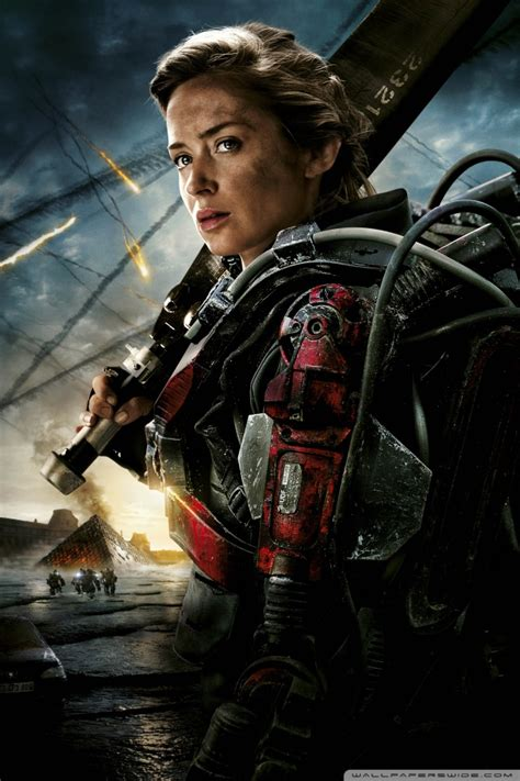 emily blunt wallpaper edge of tomorrow edge of tomorrow quotes image quotes at hippoquotes com