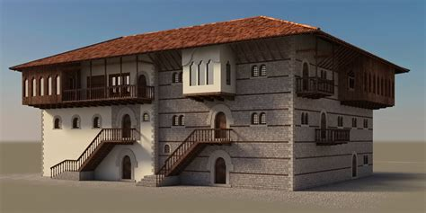 Ottoman Albania Ottoman Influence In Albanian Vernacular Architecture On Behance