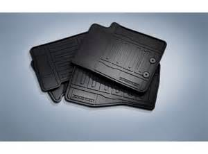 Floor Mats All Weather Thermoplastic Rubber Black 4 Pc Set Floor Mats All Weather Thermoplastic Rubber Black 4 Pc