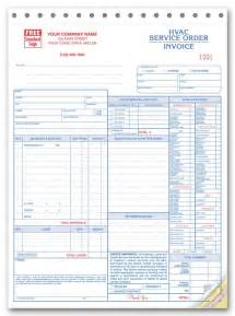 hvac service order invoice template work orders hvac work order hvac work orders print forms
