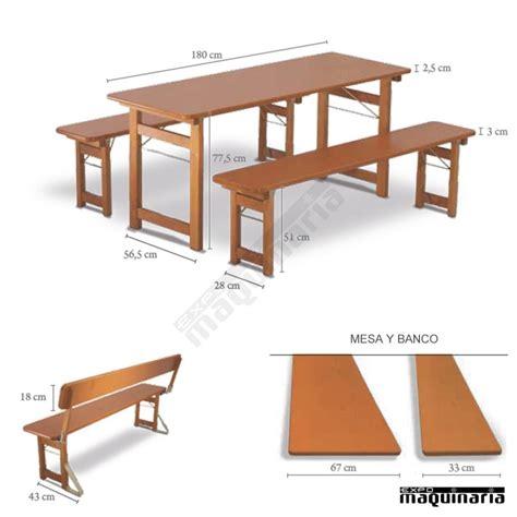 mesas y bancos plegables mesa de madera y bancos plegables de catering rustica