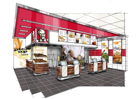 kfc kitchen layout plan kfc by jody amsden leed ap id c at coroflot com