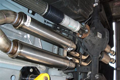 jeep stock exhaust jeep grand wk srt8 cat back exhaust system