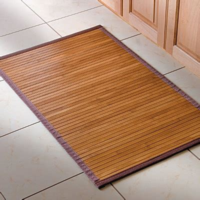 bathroom bamboo mat bamboo bath mat