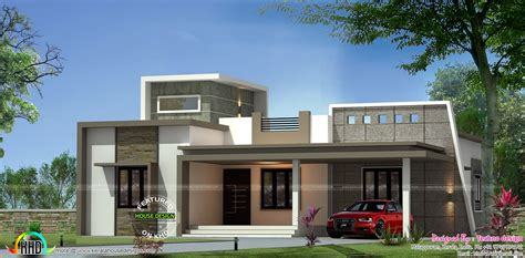 latest home design trends 2012 in kerala contemporary one floor 3 bedroom home kerala home design