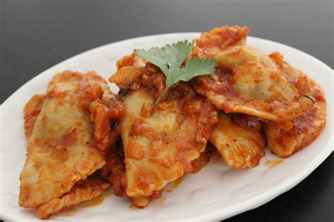 Cottage Cheese Ravioli by Spinach And Cottage Cheese Eggless Ravioli Recipe By