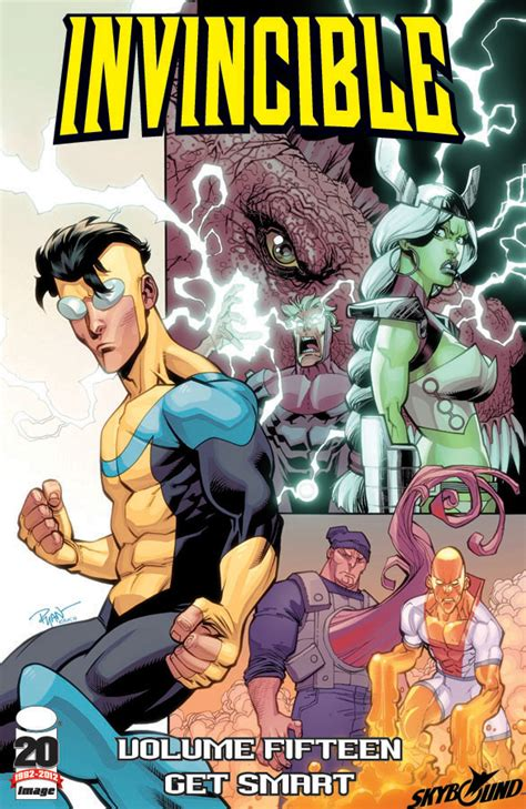 invincible ultimate collection volume 12 invincible vol 15 get smart releases image comics