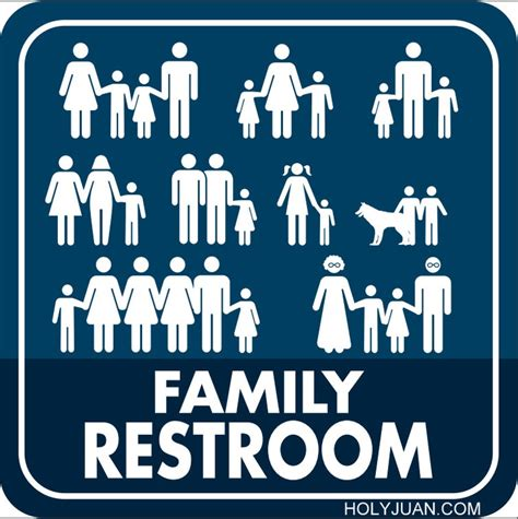 family bathroom sign 1000 ideas about restroom signs on pinterest toilet