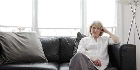 woman on couch there s a time to lean in and a time to lean out huffpost