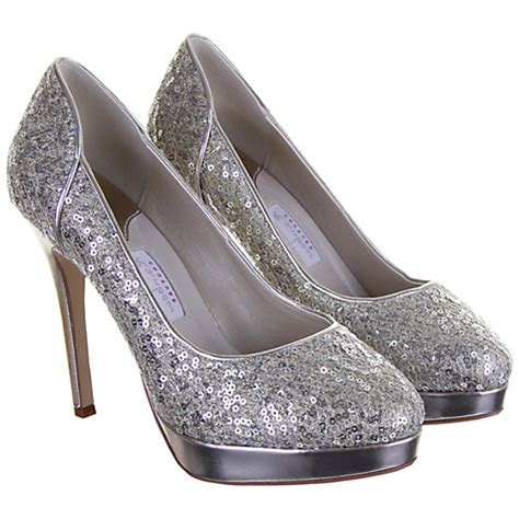 Flat Gliter Silver Rainbow buy rainbow couture seralio glitter covered court shoes