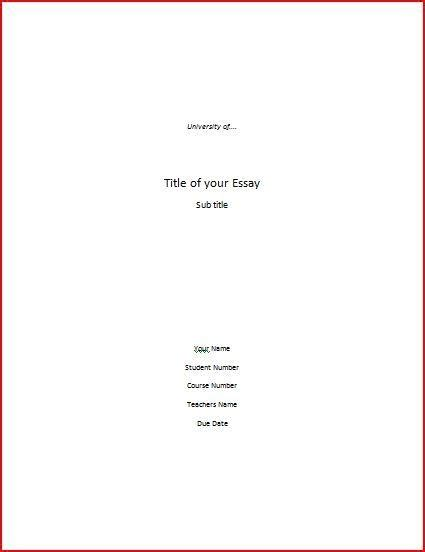 Apa Title Page Format For Research Paper by Research Paper Cover Page Whitneyport Daily